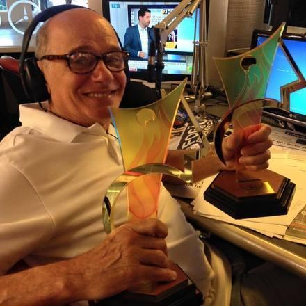 Boechat foi por três vezes ganhador do Prêmio Esso, o maior ganhador da história do Prêmio Comunique-se, e também foi eleito por duas vezes o jornalista mais admirado do país