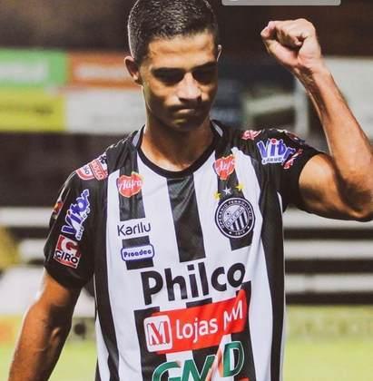 Ricardo Bueno marcou nove gols e foi o artilheiro do Operário-PR na Série B de 2020.