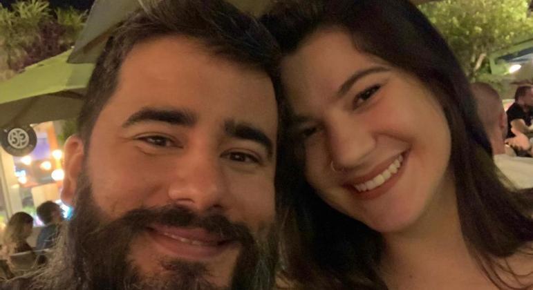 Ricardo e Ana Flávia estão prestes a completar três meses de namoro