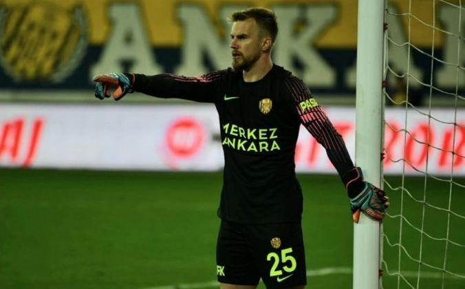 Ricardo Friedrich (28 anos) - Goleiro - Sem time desde: julho de 2021 - Último clube: MKE Ankaragücü - Valor de mercado: 850 mil de euros (R$ 5,2 milhões)