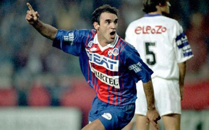Ricardo Gomes atuou no PSG entre 1991 e 1995. São 144 jogos, 16 gols e uma assistência. Conquistou quatro títulos.