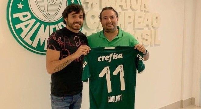 Ricardo Goulart jogará pelo Palmeiras por um ano