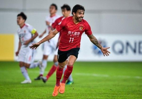 Ricardo Goulart - há quatro temporadas no Guangzhou Evergrande