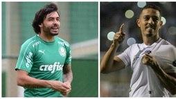 Clássico Palmeiras x Santos neste sábado vira 'tira-teima' entre estilos opostos ()