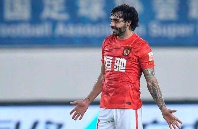 Ricardo Goulart - Posição: Atacante - Idade: 30 anos - Nacionalidade: Brasileiro naturalizado chinês - Período no Guangzhou FC: 13/01/2015 até 15/01/2019 e 18/06/2019 até atualmente