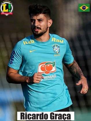 Ricardo Graça - 6,0 - Jogou por apenas seis minutos e não fez muito.