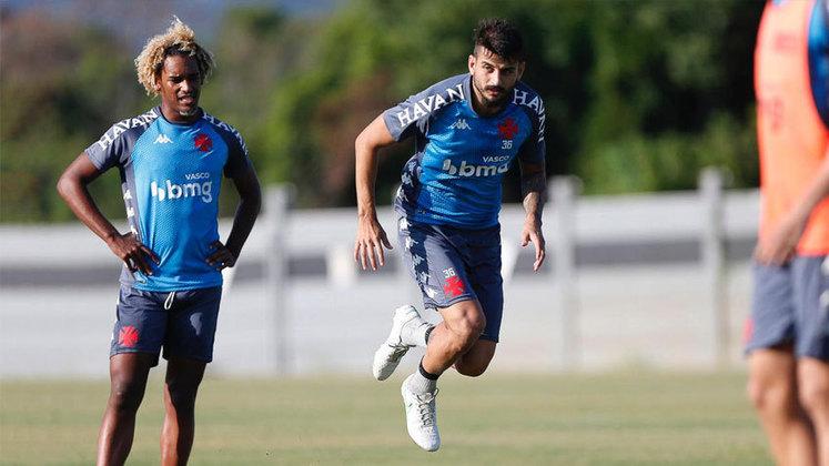 Ricardo Graça - Ao menos neste momento, parece atrás na disputa com Leandro Castan pela titularidade.