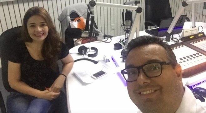 Adriana Rosa e Ricardo Hilário trabalharam juntos por mais de dois anos