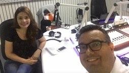 """""""Ainda não caiu a ficha"""", diz colega de radialista morto em parque no Ceará ()"""