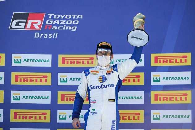 Ricardo Maurício ficou em terceiro na corrida 1