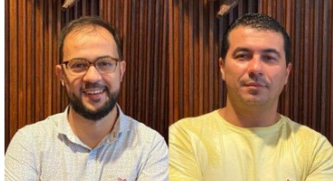 O servidor Ricardo Miranda e o deputado federal Luís Miranda