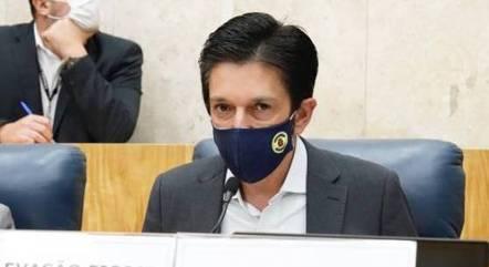 Na imagem, prefeito Ricardo Nunes (MDB)