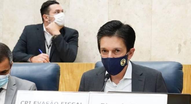 O vereador Ricardo Nunes (MDB) será o candidato a vice da chapa de Bruno Covas