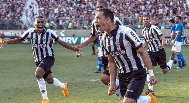 Ricardo Oliveira marcou dois gols para o Atlético-MG na final contra o  Cruzeiro 41c7ae9d3809a
