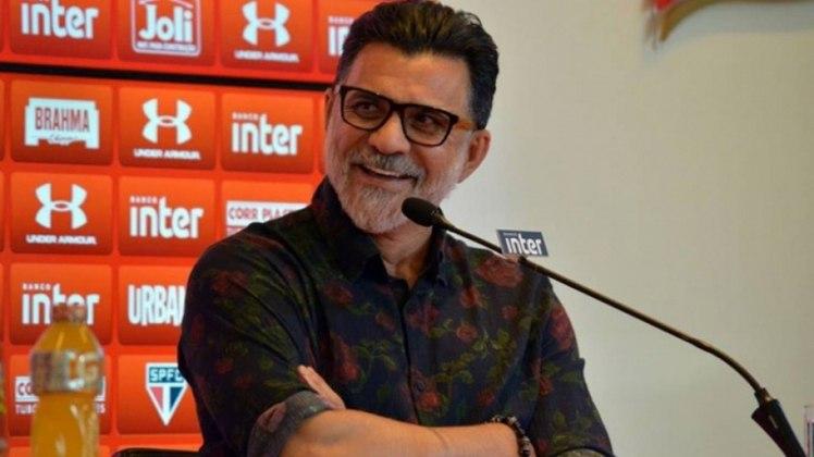 Ricardo Rocha - Atualmente, o ex-zagueiro da Seleção é é coordenador de futebol do São Paulo(Foto: Érico Leonan/saopaulofc.net)