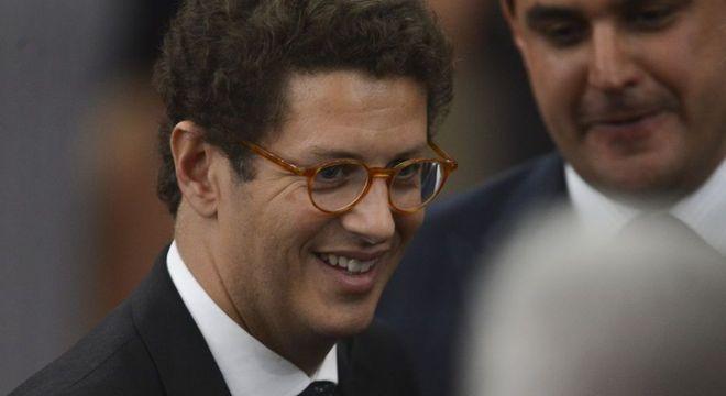 O ministro do Meio Ambiente Ricardo Salles