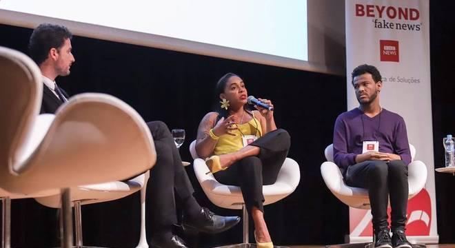 Professora Lilia Melo diz em seminário promovido pela BBC News Brasil que professores têm função vital no combate às fake news