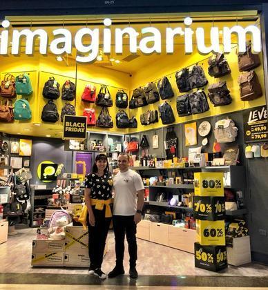 DIA DOS NAMORADOS: Ricardo Zeni Chiaregato e Nivea Natalie Nicolosi são donos de uma franquia da Imaginarium