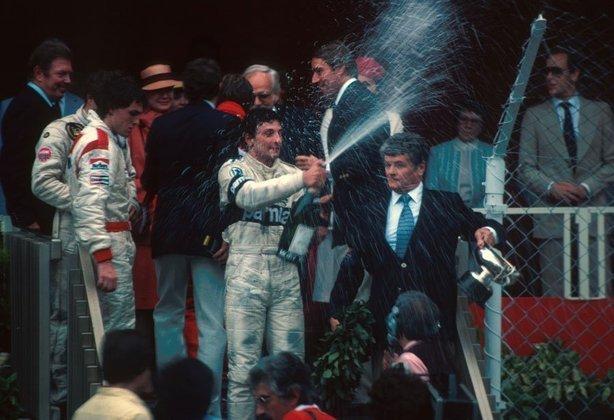 Riccardo Patrese disputou 71 corridas até vencer o GP de Mônaco de 1982