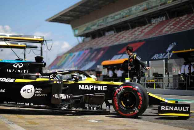 Ricciardo antes do GP da Espanha. Australiano voltou a ficar fora da zona de pontuação