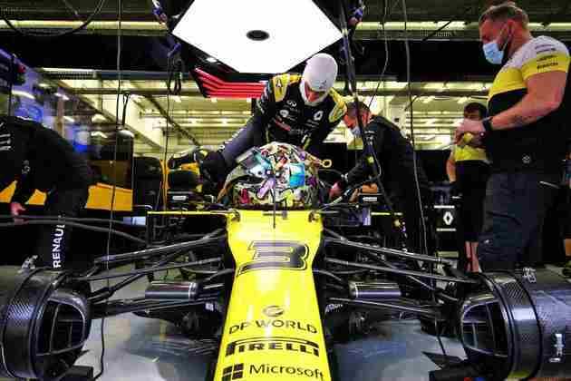 Ricciardo mira o terceiro pódio em 2020.