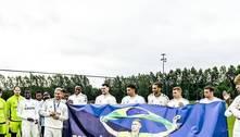 Richarlison recebe homenagem do Everton por conquista em Tóquio