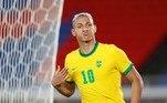 A seleção brasileira entra em campo contra aArábia Saudita às 05h