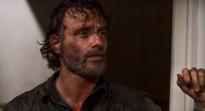 Andrew Lincoln deixa a série com a morte de Rick Grimes