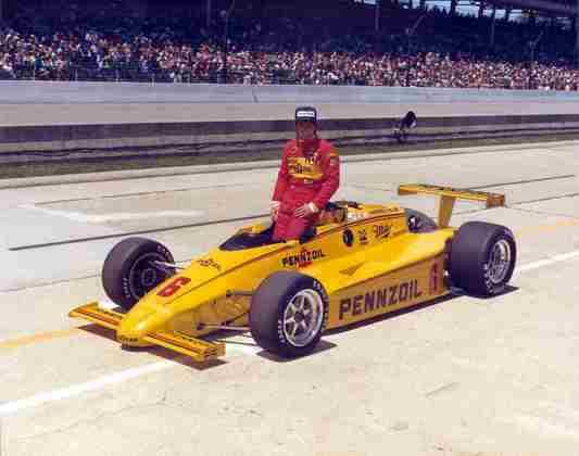 Rick Mears é o mais recente tetracampeão da Indy 500. 1979, 1984, 1988 e 1991