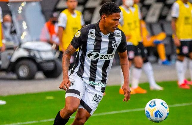 Rick - Posição: Atacante - Clube: Bahia - Idade: 22 anos - Valor de mercado segundo o Transfermarkt: 50 mil euros (aproximadamente R$ 312 mil) - Contrato até: 31/12/2021.