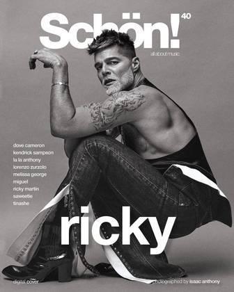 À publicação, Ricky falou sobre diversos temas, incluindo a infância, pandemia, traumas e o novo disco e turnê que estão sendo planejados pelo cantor