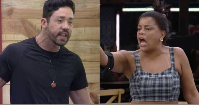 Rico Melquiades e Tati Quebra Barraco brigam em A Fazenda 13