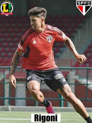 Rigoni - 5,5 - Não teve o protagonismo que se esperava no ataque do São Paulo. Principal jogador da equipe, criou poucas chances de perigo e parou na marcação palmeirense na maioria das vezes.