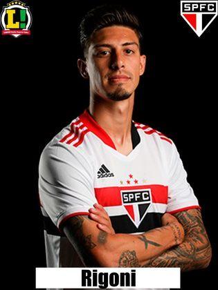 Rigoni - 7,0: Como de costume, foi o jogador mais participativo e incisivo do São Paulo. Mesmo com uma função mais criativa, conseguiu duas excelentes finalizações.