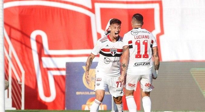 Crespo pode montar ataque com Luciano, Calleri e Rigoni juntos - Esportes - R7 Esportes