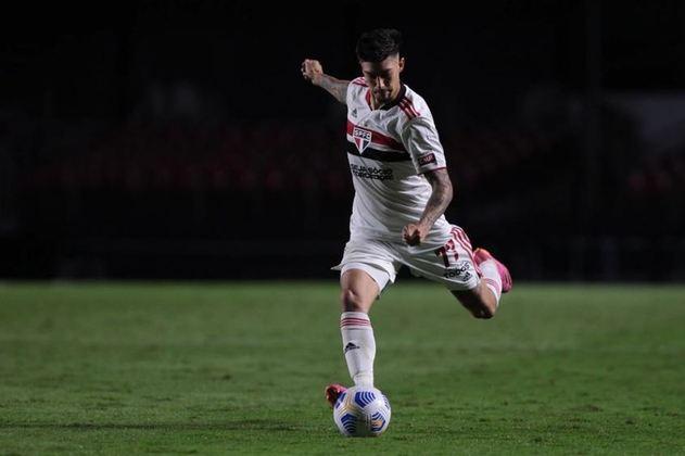 Rigoni - o atacante argentino de 28 anos foi reforço do São Paulo nesta temporada. Ele tem contrato com o Tricolor até dezembro de 2024.