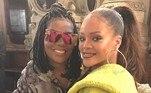 Por falar em Ludmilla, a cantora também teve uma música divulgada no exterior por ninguém menos do que Rihanna. Malokera embalou o desfile da nova coleção da marca de lingeries da estrela