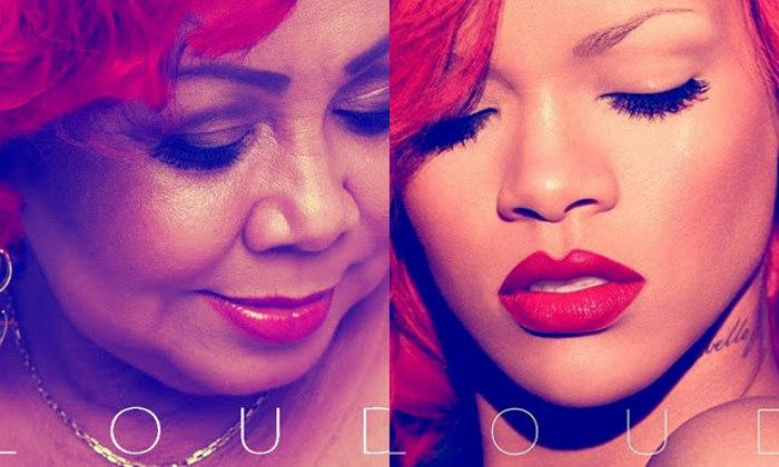AlcioneA cantora brasileira foi parar nas redes sociais por conta da montagem acima, que a compara com a cantora Rihanna. A estrela de Barbados chegou a compartilhar a imagem em sua página, fazendo outros estrangeiros buscarem por Alcione na web