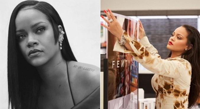 Com sua empresa de beleza, Rihanna ampliou as riquezas e se tornou bilionária