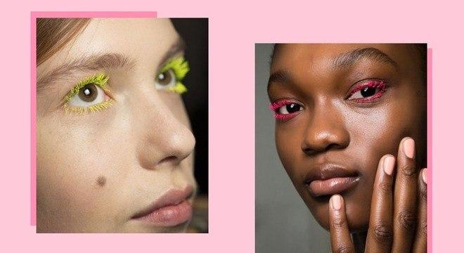 Rímel colorido: 6 opções divertidas para ousar na maquiagem