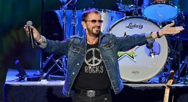 Ringo Starr completou 80 anos