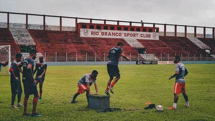 Rio Branco: 1 vitória em um jogo válido pelo Campeonato Paranaense