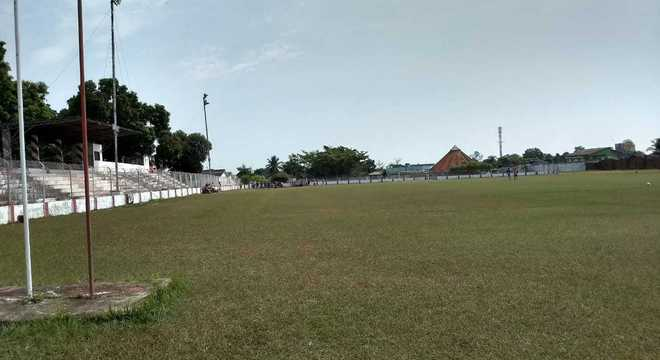 Estádio José de Melo,  de propriedade do Rio Branco Football Club, onde o time de futebol do Rio Branco-AC faz seus treinos