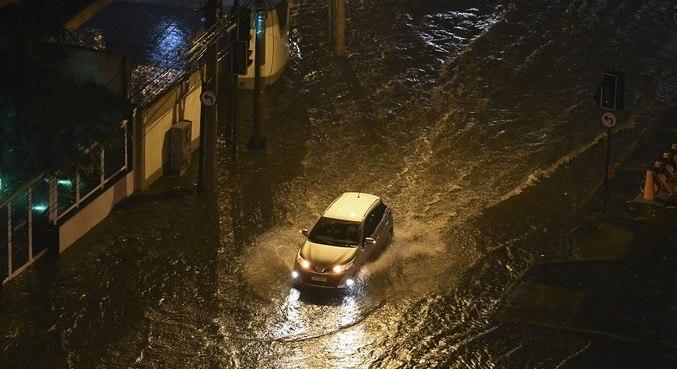 Rio sofreu com chuvas nesta sexta (25)