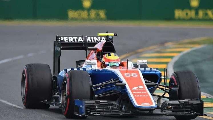 Rio Haryanto não se aguentou na Manor até a metade de 2016. Demitido, deu lugar ao francês Esteban Ocon.