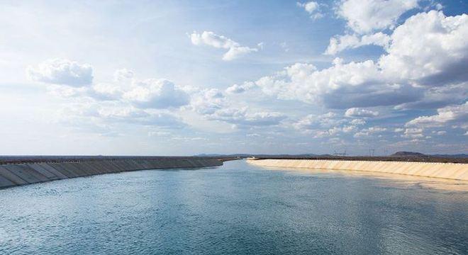 Águas do Rio São Francisco vão chegar ao Ceará nesta sexta-feira