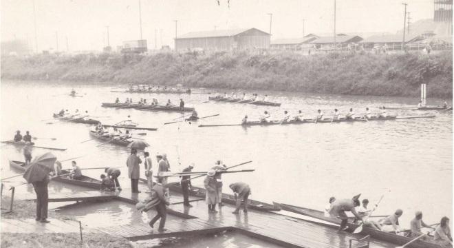 Rio já foi cenário de regatas históricas que mobilizavam a cidade