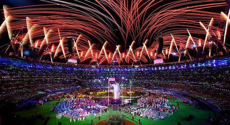 A abertura dos Jogos do Rio/2016