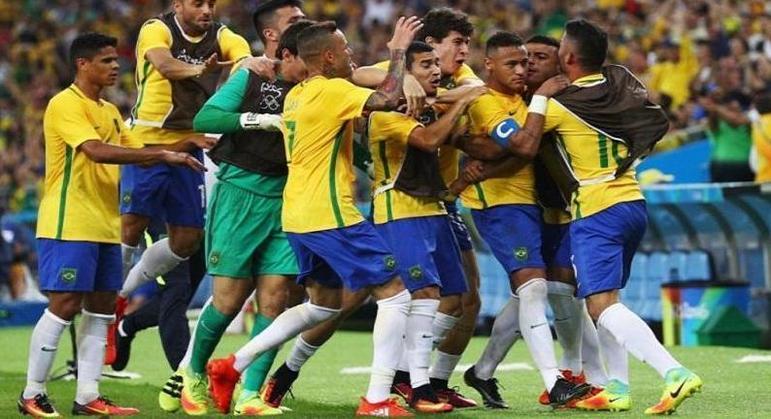 A festa pelo ouro no Rio/2016