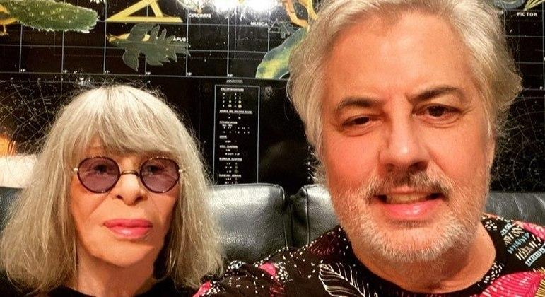 Rita Lee e Roberto de Carvalho estão juntos há 25 anos
